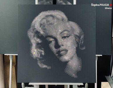 """Policja odzyskała """"kryształową Marilyn Monroe"""". Była wykonana z 6 tys...."""