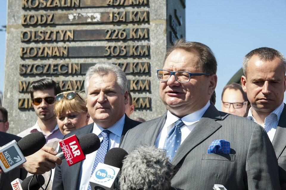 Aleksander Kwaśniewski i Ryszard Kalisz