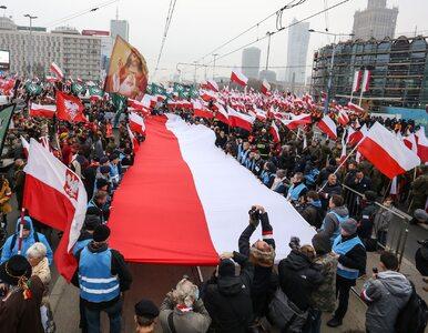 Dziennikarz WP towarzyszył Młodzieży Wszechpolskiej w drodze na marsz....