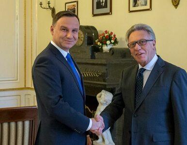 Andrzej Duda spotkał się z przewodniczącym Komisji Weneckiej ws....
