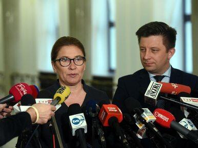 Beata Mazurek: Gasiuk-Pihowicz wbiła nóż w plecy Katarzynie Lubnauer