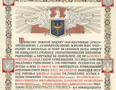 Potrzebne były trzy powstania i plebiscyt. 97 lat temu Górny Śląsk...