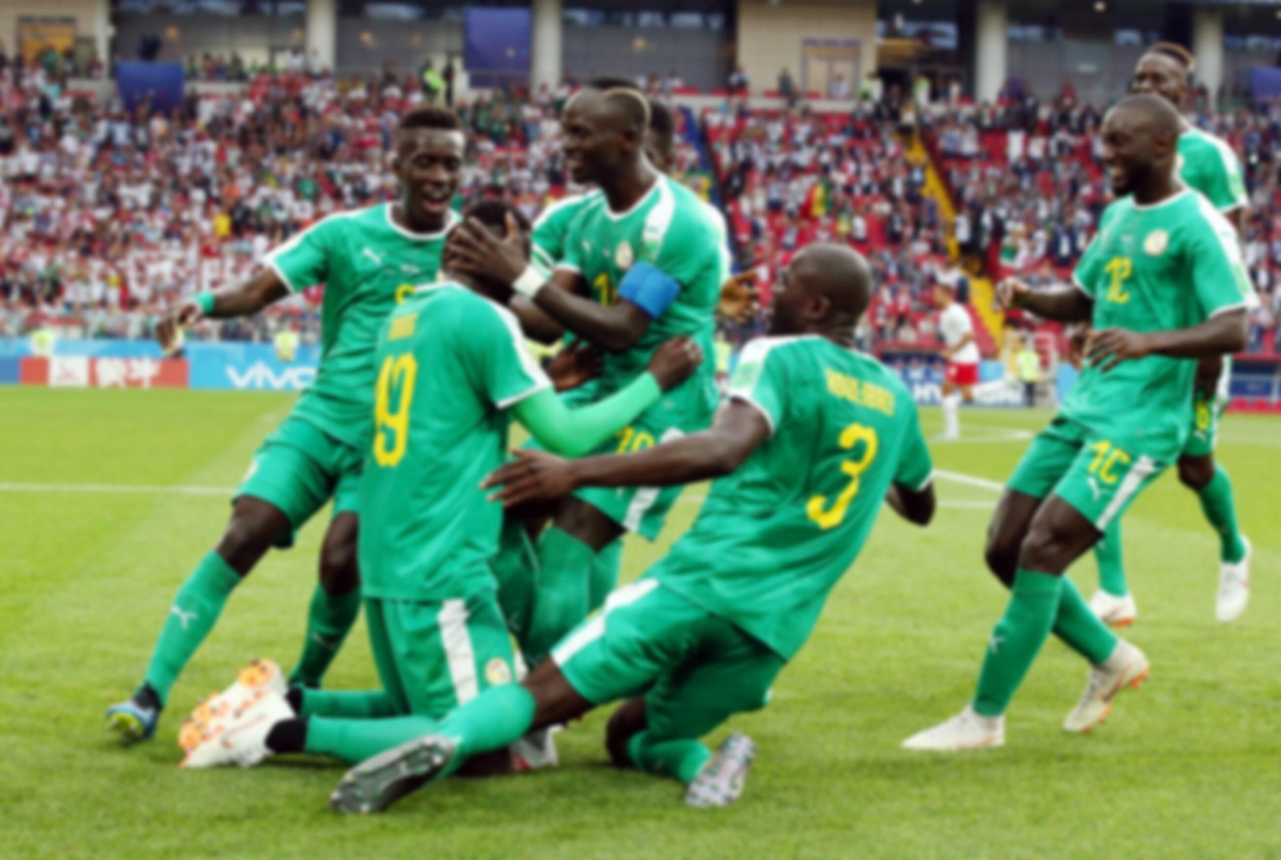 Piłkarze reprezentacji Senegalu