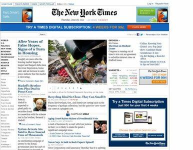 """""""New York Times"""" zaczął pisać po chińsku"""