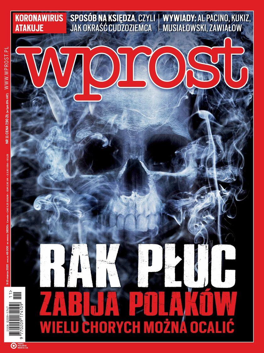 Tygodnik WPROST 11/2020 - Okładka