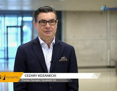 Synektik SA, Cezary Kozanecki – Prezes Zarządu, #255 PREZENTACJE WYNIKÓW