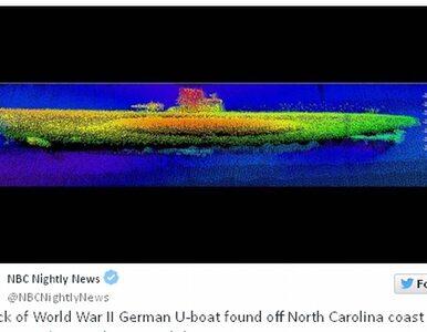Wrak U-boota u wybrzeży USA
