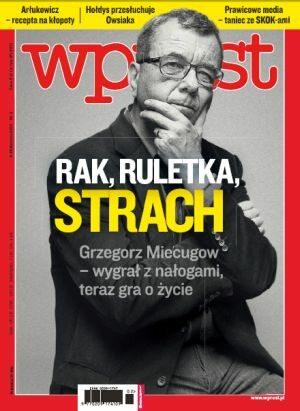 Okładka tygodnika Wprost nr 2/2012 (1508)