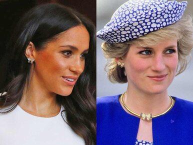 Księżna Meghan założyła biżuterię należącą niegdyś do księżnej Diany
