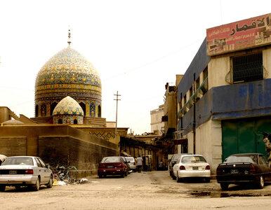 Bagdad. Samobójczy zamach w meczecie. Są zabici i ranni