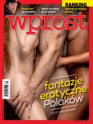 Okładka tygodnika Wprost nr 35/2015 (1694)
