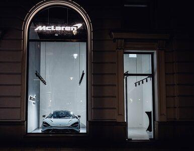 Ultraluksus w centrum Warszawy. Sklep McLarena w butikach Europejskiego