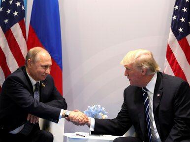 Trump spotkał się z Putinem 2 razy. Utrzymywał to w tajemnicy