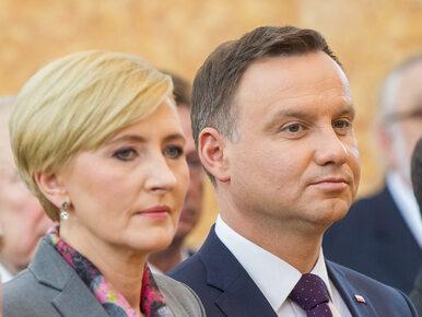 Prezydent Duda broni żony: Robi to, co uważa za właściwe dla swojej roli