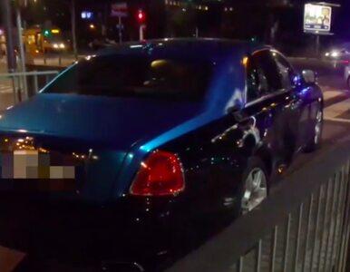 Rolls-Royce rozbity w Warszawie. A wcześniej McLaren i Lamborghini...