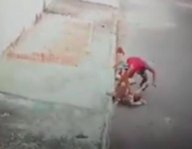 Pitbull zaatakował 4-letnie dziecko. Walkę przechodnia z rozwścieczonym...