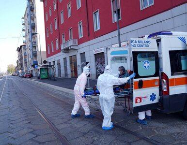 Kolejna tragiczna doba we Włoszech. Zmarło już 14,6 tys. osób zakażonych...