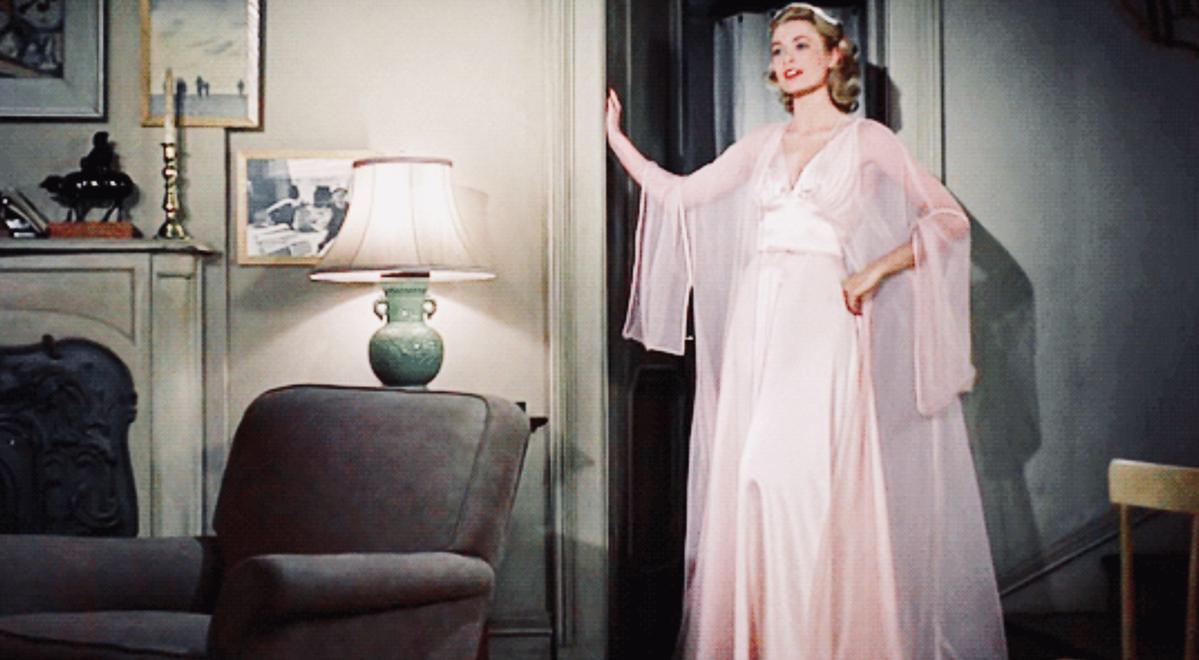 """Kadr z filmu """"Okno na podwórze"""""""