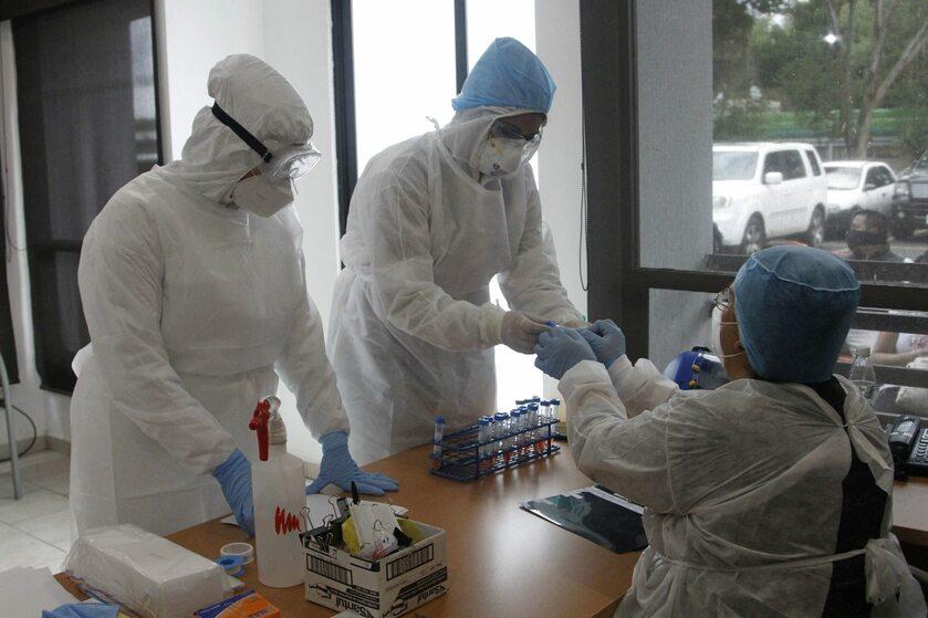 Testy na koronawirus w Meksyku