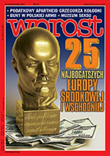 Okładka tygodnika Wprost nr 42/2002 (1038)