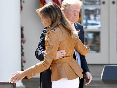 Wpadka prezydenta USA. Donald Trump pomylił imię... własnej żony