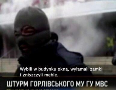 Separatyści wdarli się do kolejnego posterunku na Ukrainie