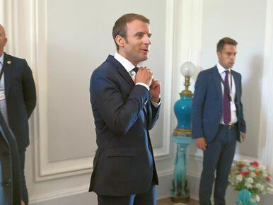 Macron: Polska sama się izoluje, idzie w innym kierunku. Waszczykowski...