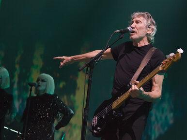 """Roger Waters w Gdańsku. """"Uwolnić sądy"""" i """"Konstytucja"""" na telebimie"""