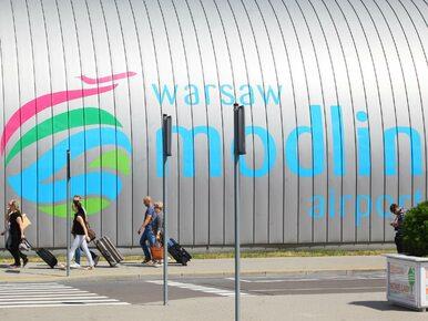 Lotnisko w Modlinie uratowane. Ma zielone światło z Urzędu Lotnictwa...