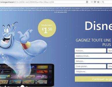 Uwaga na fałszywe witryny Disney+. We Francji oszuści naciągają...