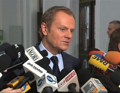 Tusk: Chodzi o sankcje dotkliwe dla decydentów, ale neutralne gospodarczo