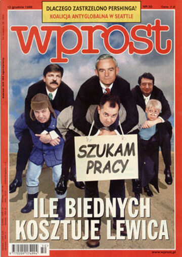 Okładka tygodnika Wprost nr 50/1999 (889)