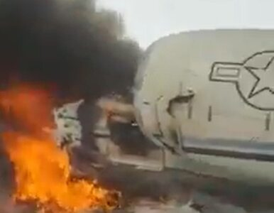 Talibowie przyznali się do zestrzelenia amerykańskiego samolotu w...
