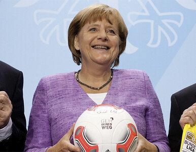 Merkel do piłkarzy-gejów: ujawnijcie się