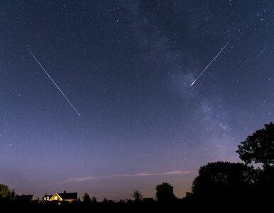 Perseidy można oglądać także dziś. Co noc, to spadające gwiazdy