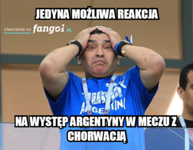 Porażka Argentyny w meczu z Chorwacją! MEMY po meczu