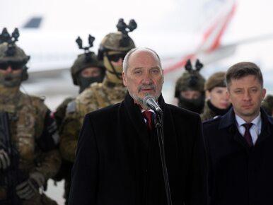 Macierewicz: Rosja szykuje się do agresji. To nie jest zimna wojna