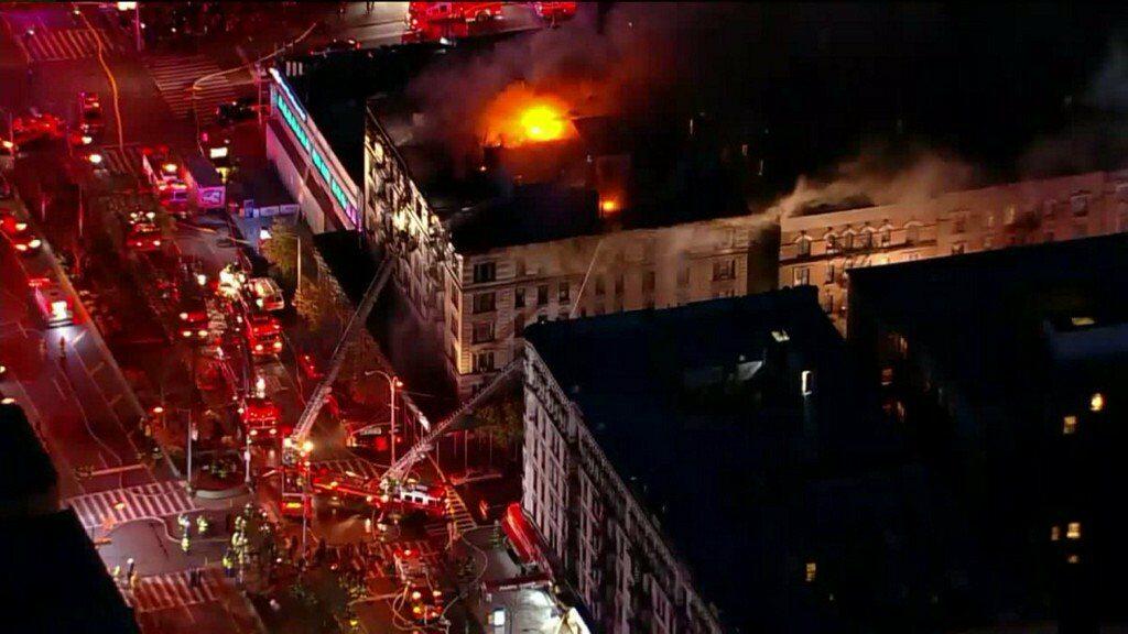 Pożar na Manhattanie