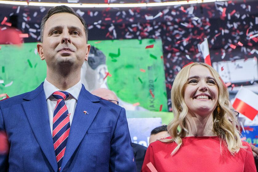 Władysław Kosiniak-Kamysz i jego żona Paulina