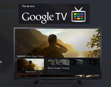 Interaktywna telewizja od Google i Sony