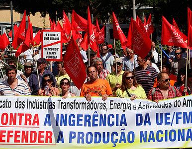 """""""MFW wynoś się z Portugalii"""". Protest lewicy"""