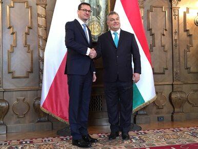 Premier Morawiecki udał się z pierwszą wizytą zagraniczną