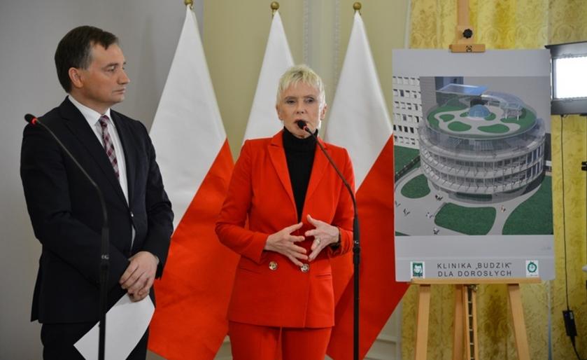 Zbigniew Ziobro i Ewa Błaszczyk
