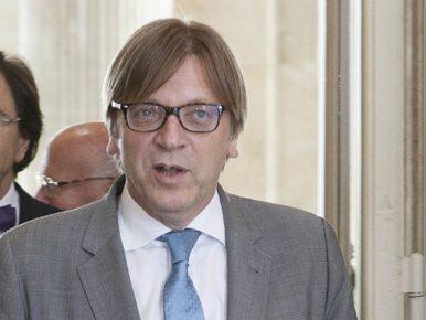 """Guy Verhofstadt """"niepożądany"""" na terytorium Polski? Polityk komentuje"""