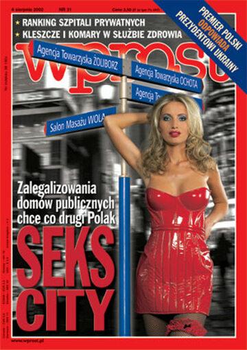 Okładka tygodnika Wprost nr 31/2002 (1027)