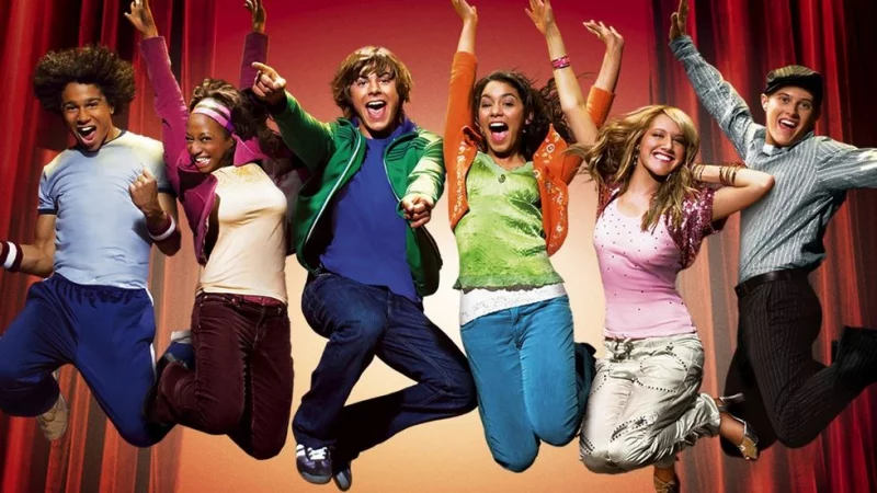 "Kadr z filmu ""High School Musical"" (2006)"