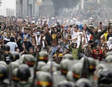 Masowe protesty w Wenezueli. 140 zatrzymanych, nie żyje policjant