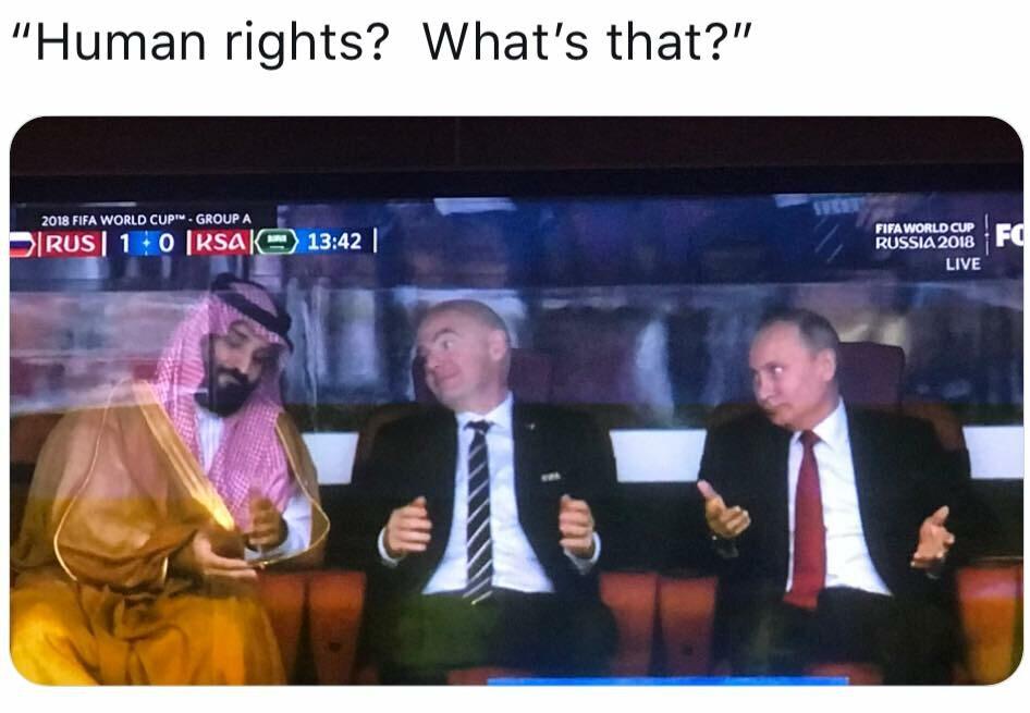 Memy po meczu Rosja - Arabia Saudyjska