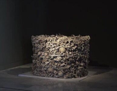 Kontrowersyjna rzeźba w muzeum. Artystka stworzyła bryłę z ludzkich kości