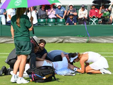 """Wimbledon: Makabryczna kontuzja Amerykanki. Błagała, żeby ją """"dobić"""""""